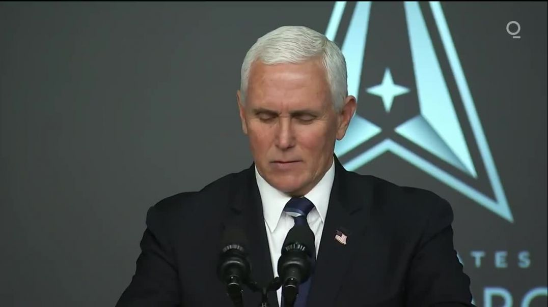 """Space Force will be known as guardians,"""" Vice President Pence"""