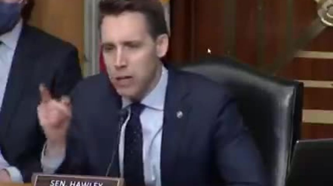 """Senator Hawley: """"74 million Americans are not going to shut up"""