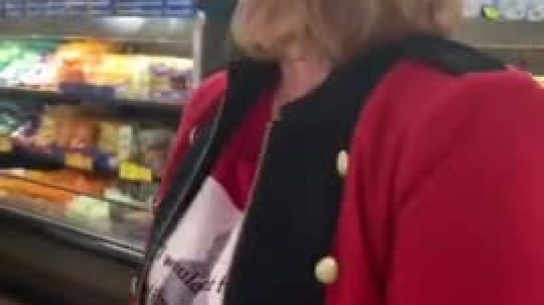 WATCH Karen LOSES It Over Lack of Mask In Grocery Store