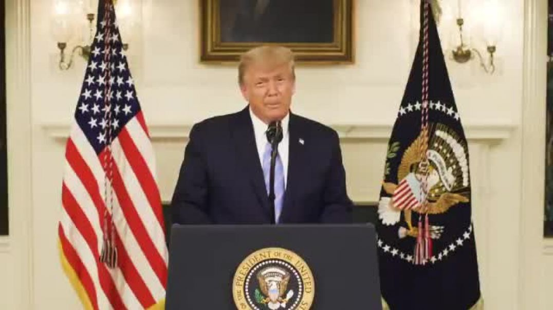 President Trump Smooth Transition Speech to the Public 1/7/2020 7:17pm