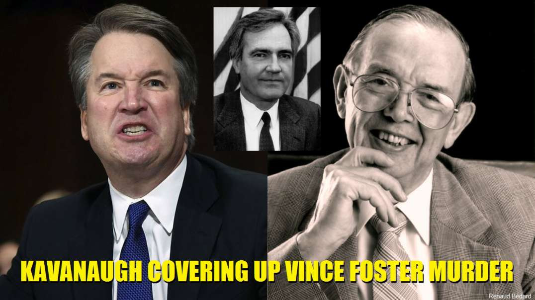 BRETT KAVANAUGH AND REED IRVINE ABOUT THE MURDER OF VINCE FOSTER
