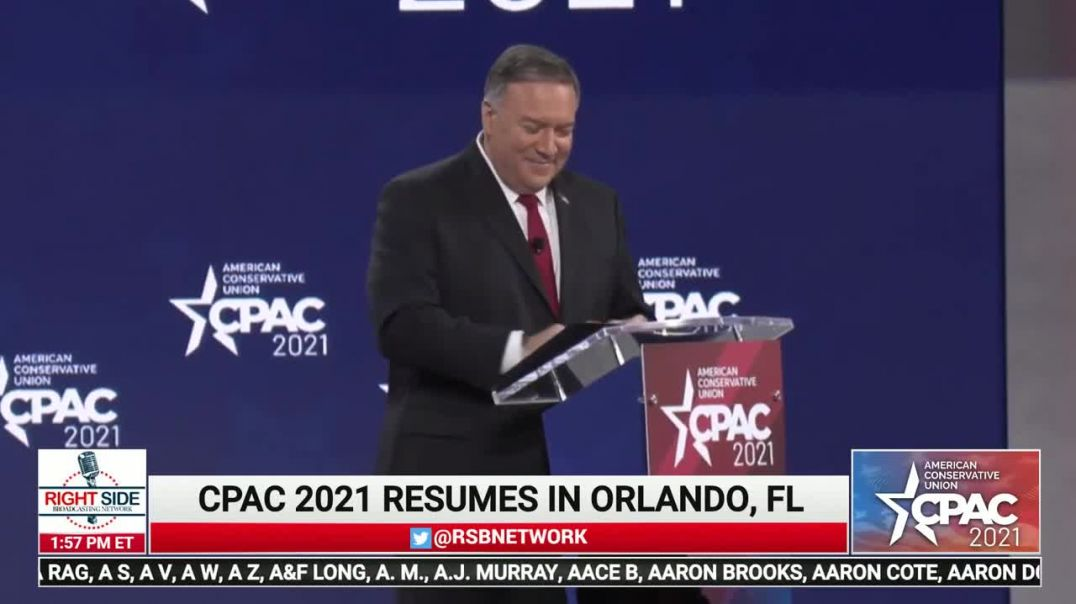 Mike Pompeo CPAC 2021