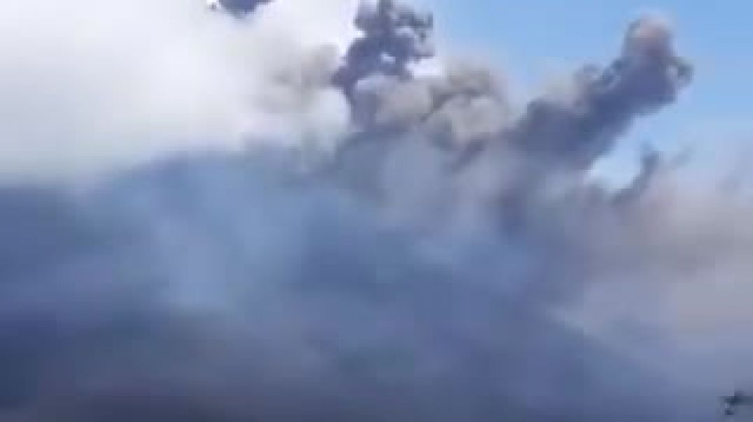 JUST IN Massive explosion at Guatemala's Pacaya volcano