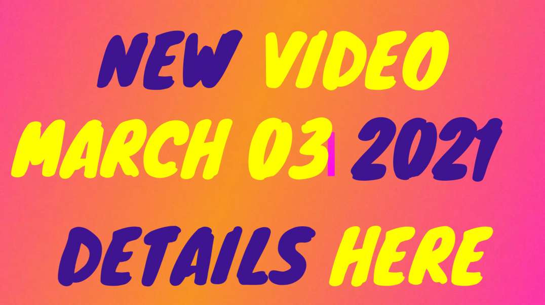 NEWEST VIDEO ❗️❗️❗️ MARCH 03 UPDATE - RUSH