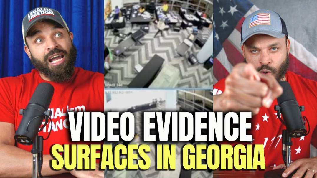 HODGE TWINS VIDEO EVIDENCE SHOWS GEORGIA POLL WORKERS PULLING OUT SUITCASES OF BALLOTS
