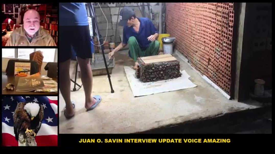Juan O'Savin Interview Update Today March 15, 2021