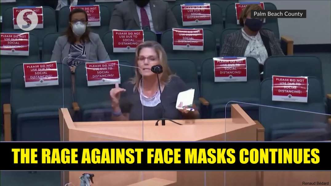 THE RAGE AGAINST FACE MASKS CONTINUES