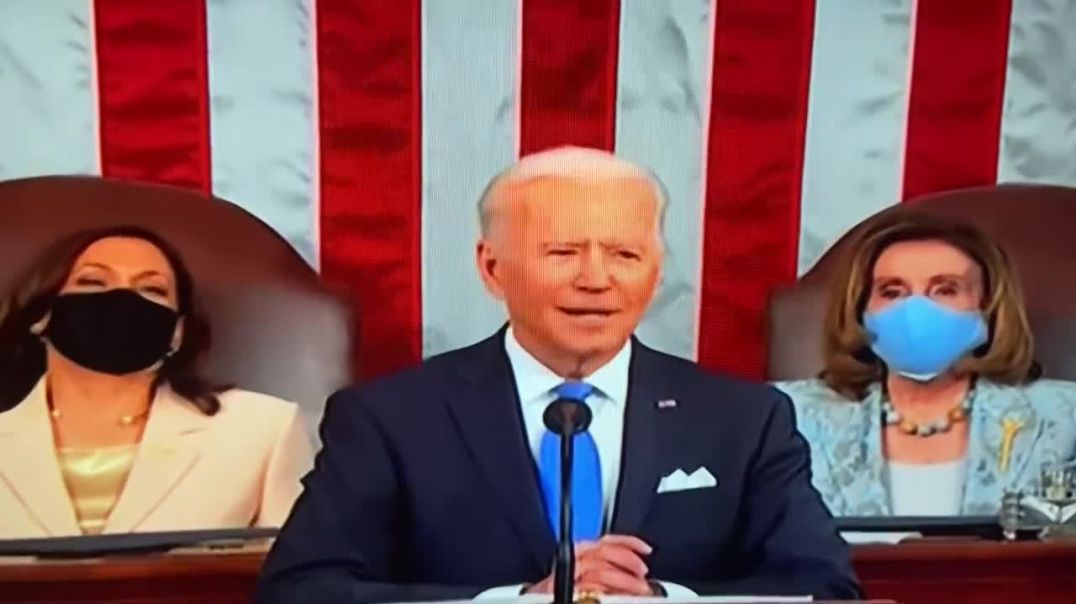 Clarly Bonne - Biden Address (LOL Leave me the fuk alone) 4-28-2021