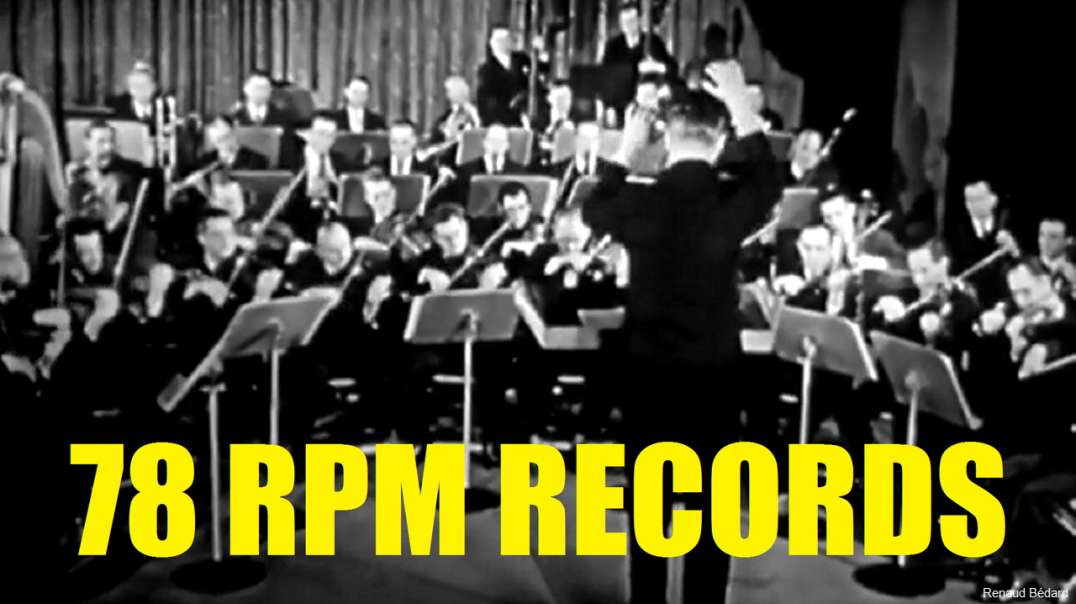 78 RPM RECORDS MANUFACTURING 1946 DOCUMENTARY