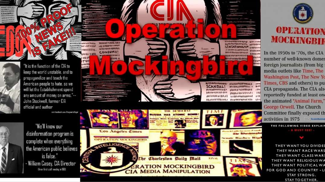 Operation mockingbird at the Church Committee