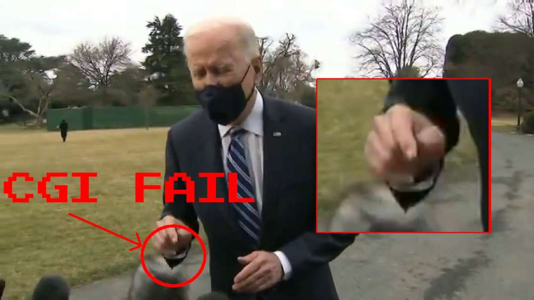 Joe Biden - CGI Greenscreen Fail