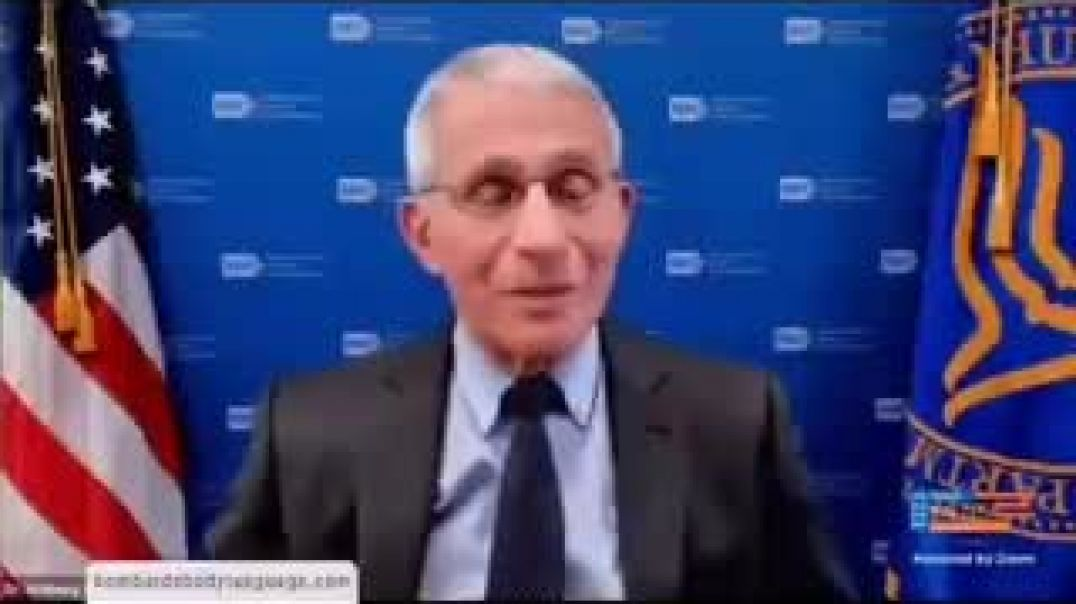 Popcorn time - Fauci admits collusion with Chinese scientists