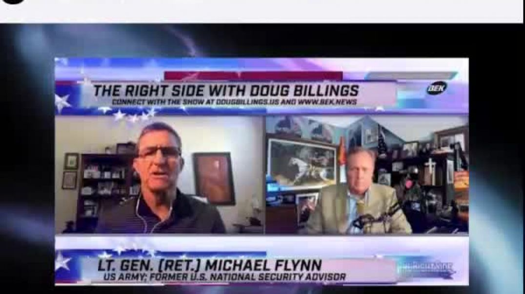 And We Know - General Flynn Mike Lindel  election fraud. August