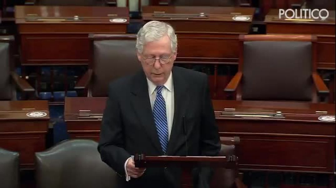 MITCH MC CONNELL - 5-19-2021 It's not at all clear what new facts or additional investigation yet an