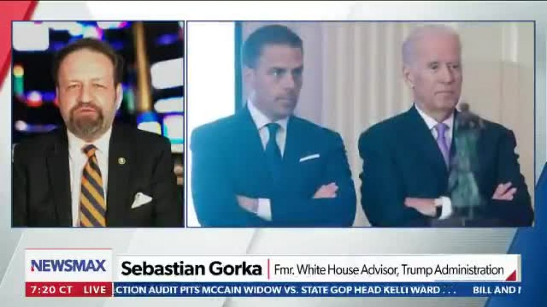 Sebastian Gorka goes off on the 'communist deal' Biden family