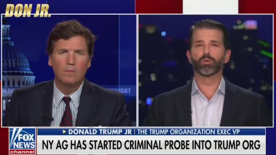 DONALD TRUMP JR  Watch I Go OFF On New York's Witch Hunt Against My Father