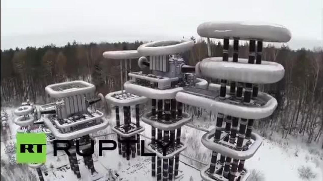 Eyes on - Fr nrg might be closer than you think -  - Russia EXCLUSIVE - Drone captures Tesla Tower -
