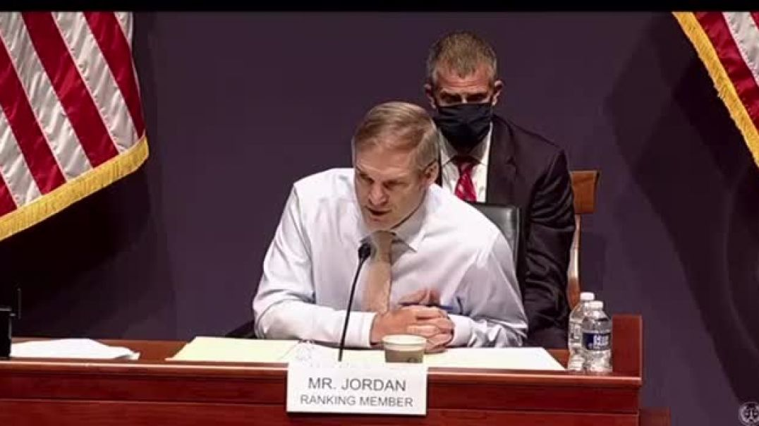 Jim Jordan - To WRAY Did you sign off on the raid of Rudy Giuliani's apartment  6-10-21