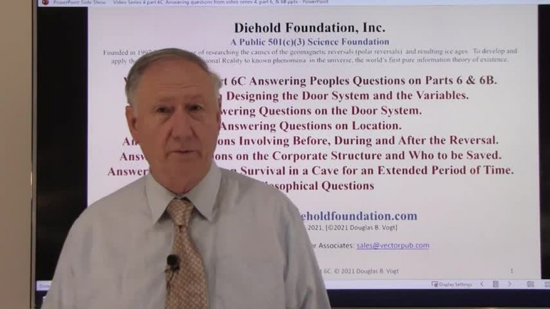 Diehold Foundation Series 4, Part 6C The Heat Output of the Nova  Designing the Cave Door  Answering