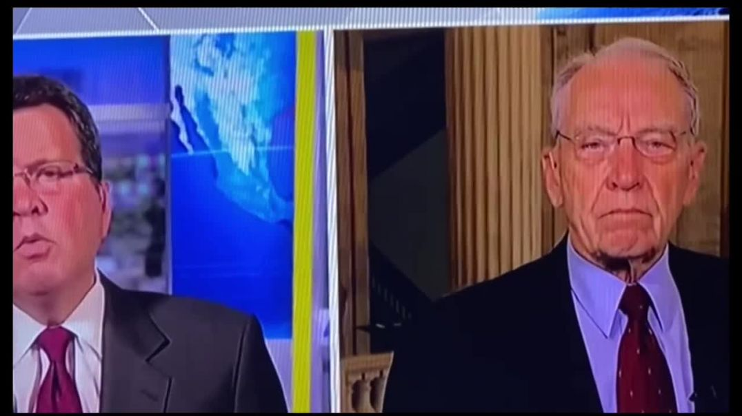 """Grassley with Neil """"If you were President"""""""
