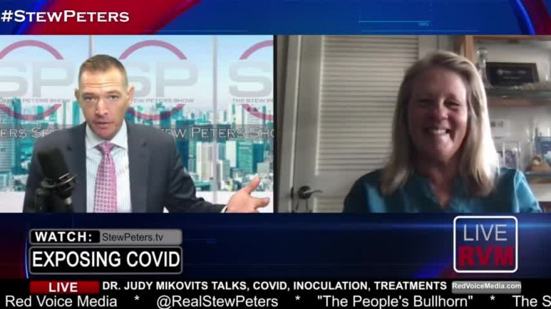 STEW PETERS SHOW 7-14-21 CURING COVID! Dr