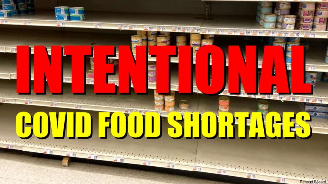 INTENTIONAL COVID FOOD SHORTAGES COMING SOON NEAR YOU