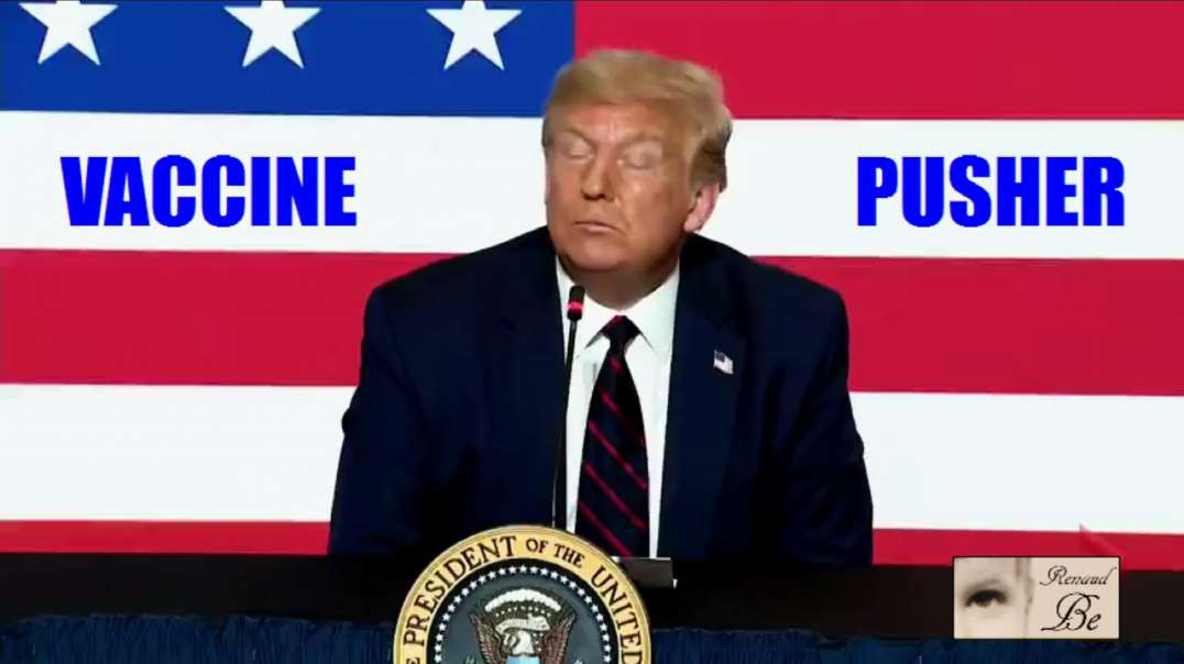 TRUMP THE PROUD POISON VACCINE PUSHER
