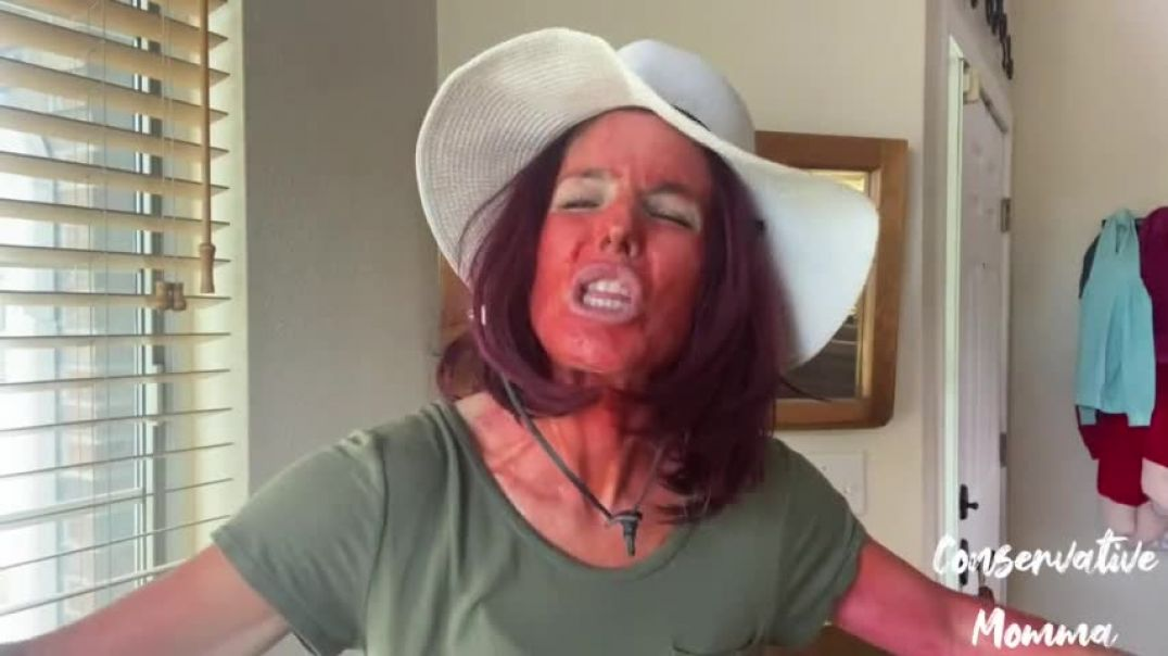 Conservative Momma 7-22-21 Just don't blame the sunscreen