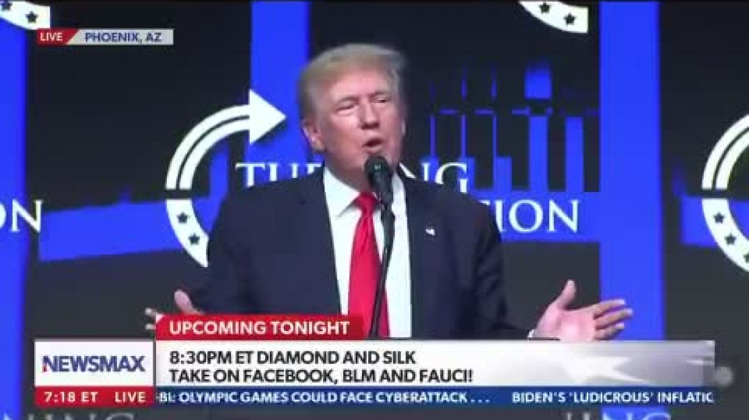 President Trump talking about the 74,000 mail in ballots received back that was never sent out