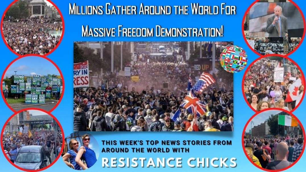 Millions Gather In World Wide Freedom Demonstration!