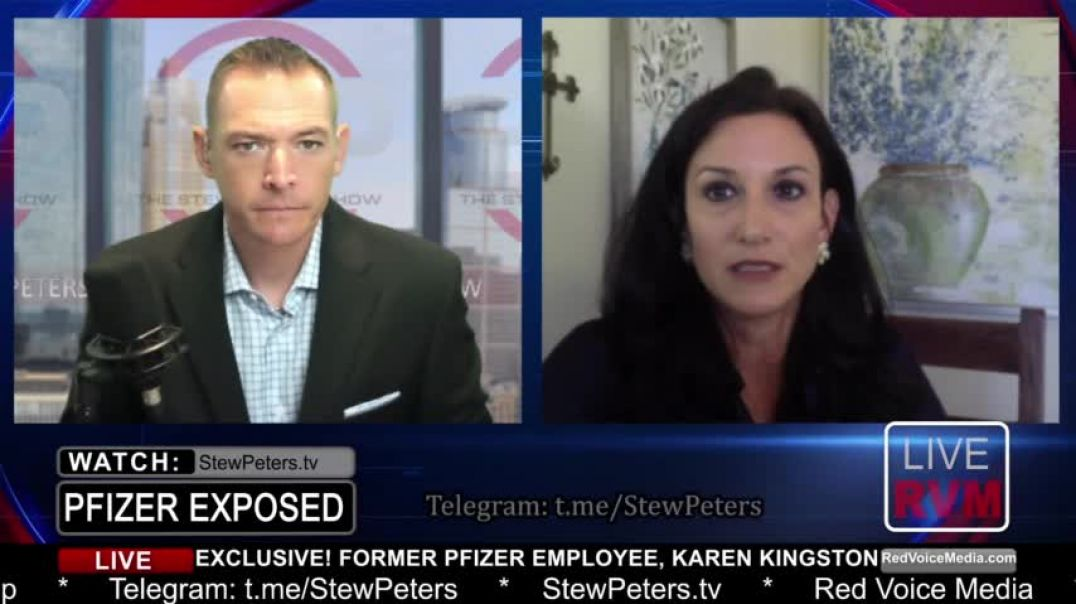 Stew Peters Show 7-28-21 DEADLY SHOTS! Former Pfizer Employee Confirms Poison in COVID  Vaccine