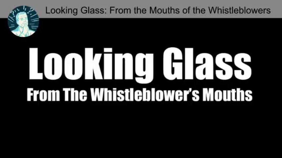 OGAnonK3nob1 Published June 5, 2021 - ( Looking Glass ) Follow the White Rabbit, it's a mind-be